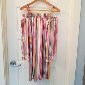 Cottagecore, boho shift-style summer dress.